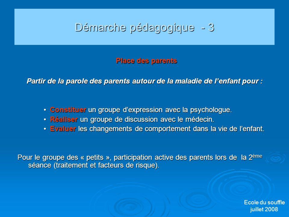 Démarche pédagogique - 3