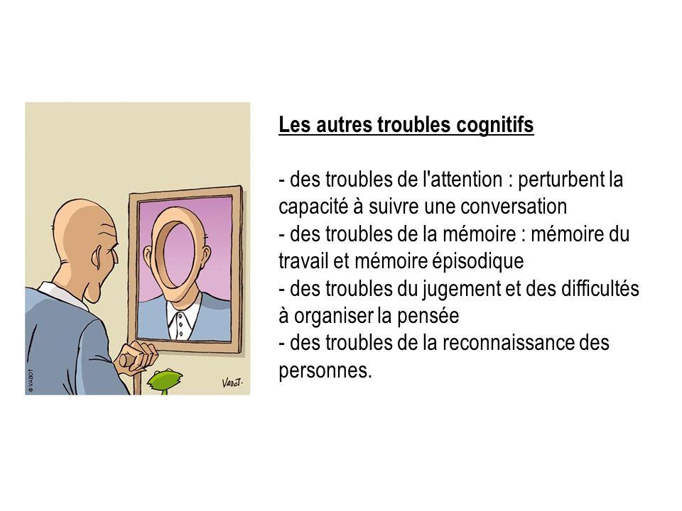 Les autres troubles cognitifs