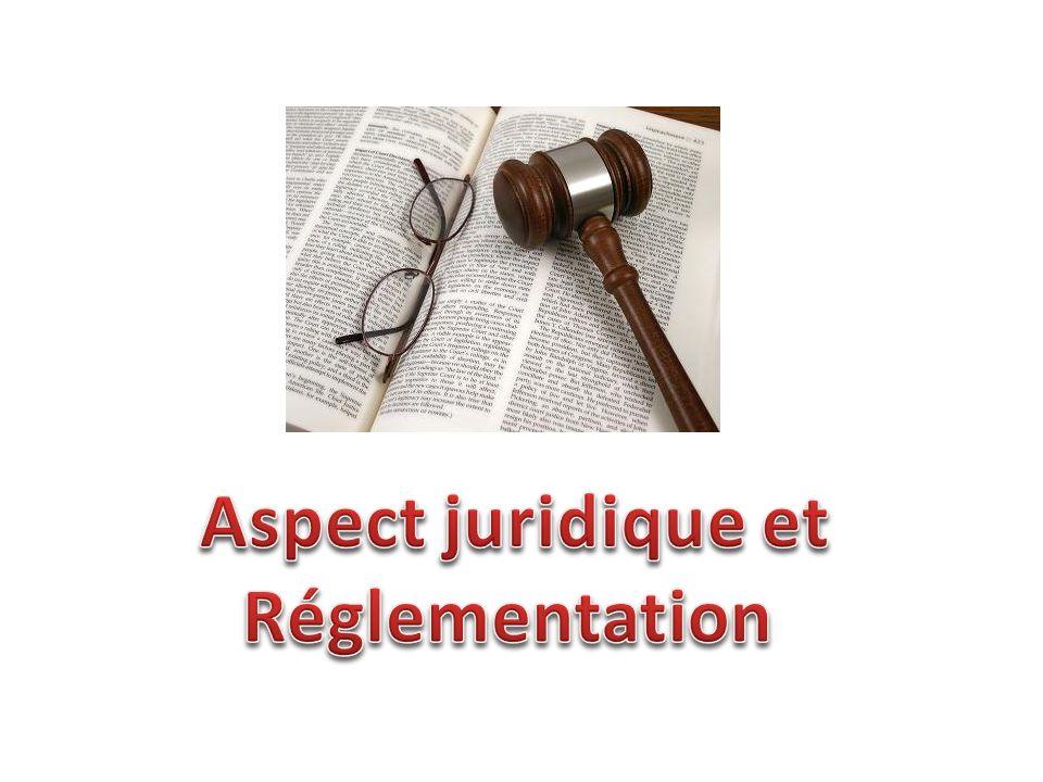 Aspect juridique et Réglementation