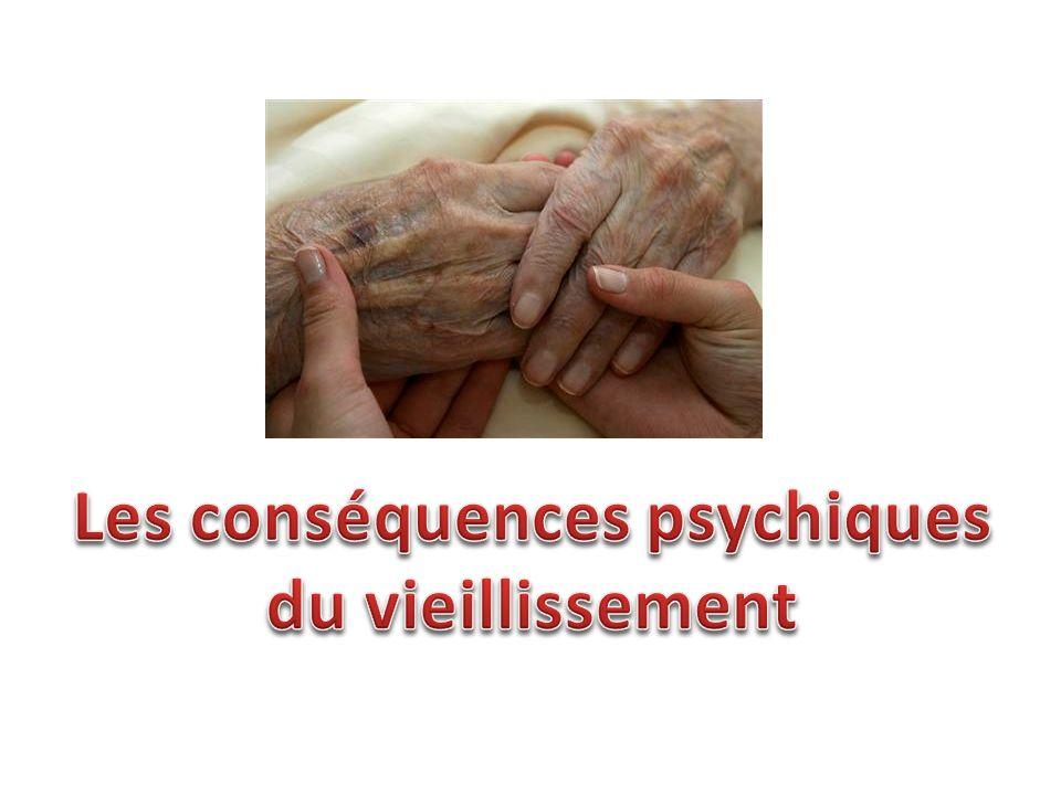 Les conséquences psychiques