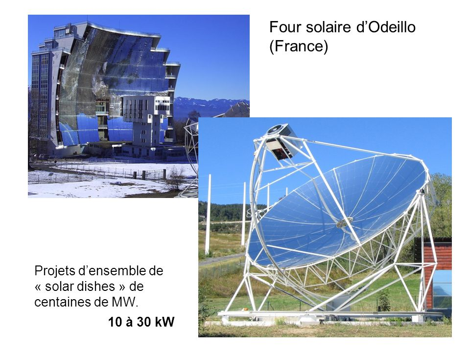 Four solaire d'Odeillo (France)