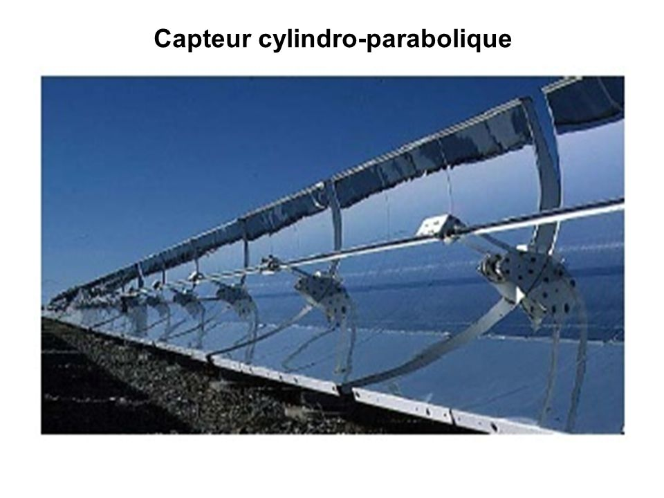 Capteur cylindro-parabolique