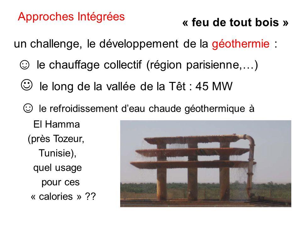 un challenge, le développement de la géothermie :
