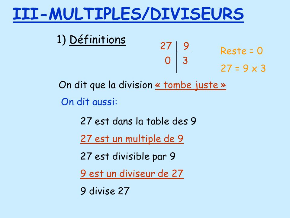 III-MULTIPLES/DIVISEURS