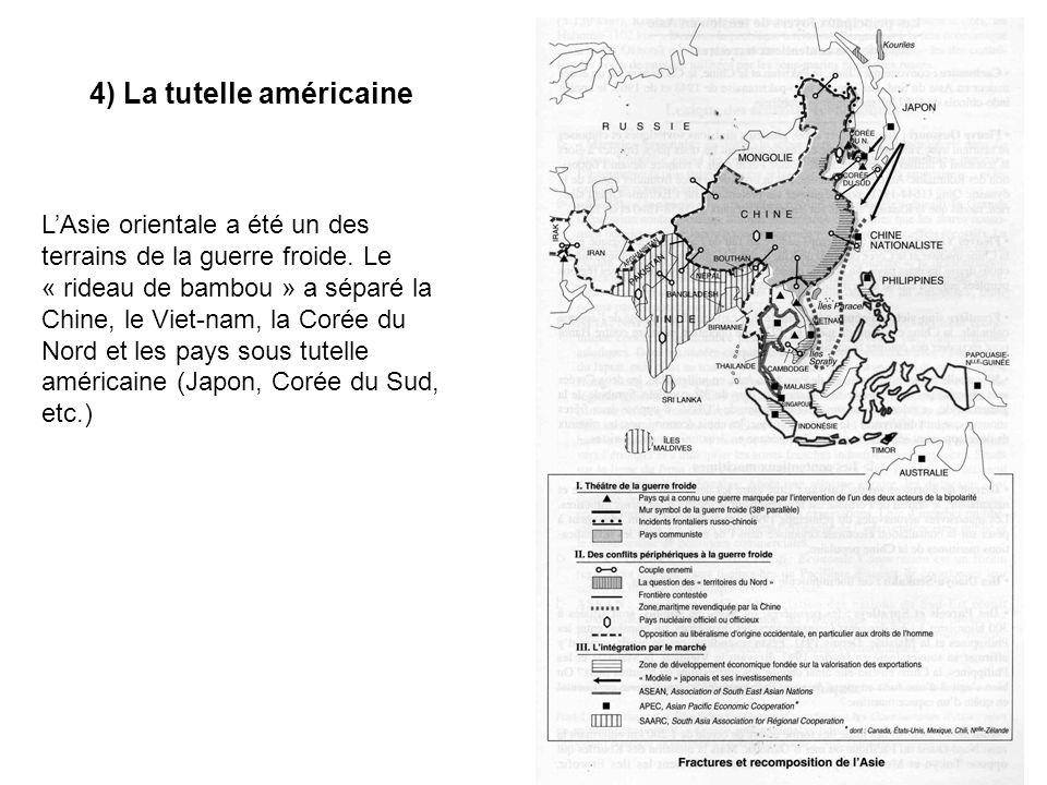 4) La tutelle américaine