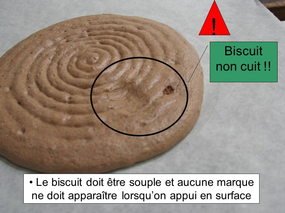 Biscuit non cuit !.