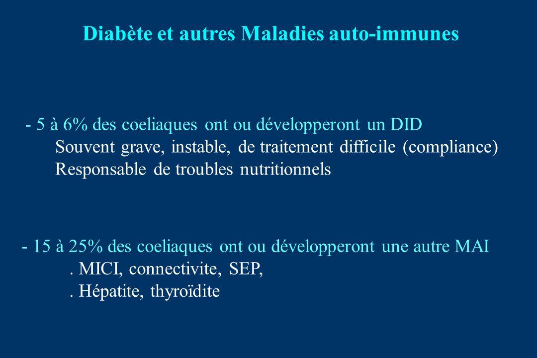 Diabète et autres Maladies auto-immunes