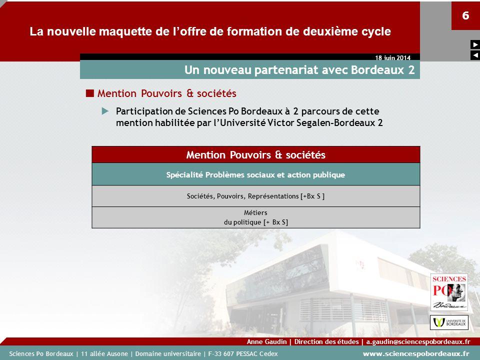 Un nouveau partenariat avec Bordeaux 2