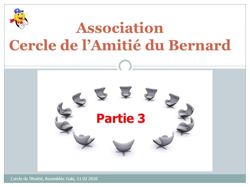 Association Cercle de l'Amitié du Bernard