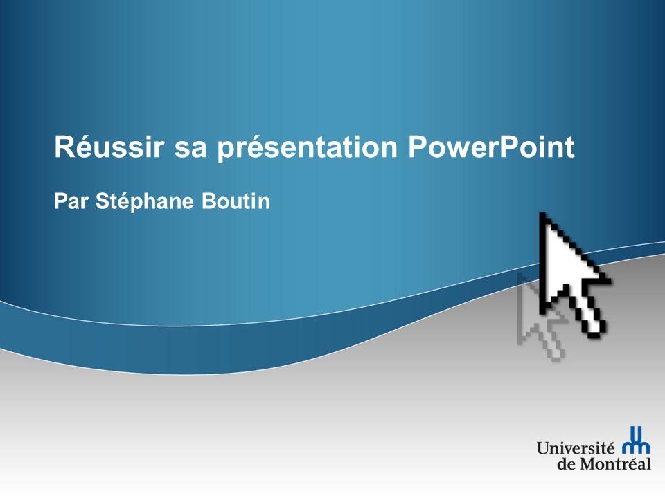 Réussir sa présentation PowerPoint