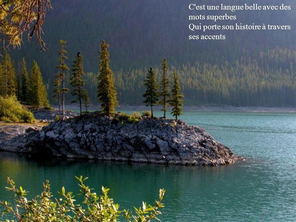 Banff C est une langue belle avec des mots superbes
