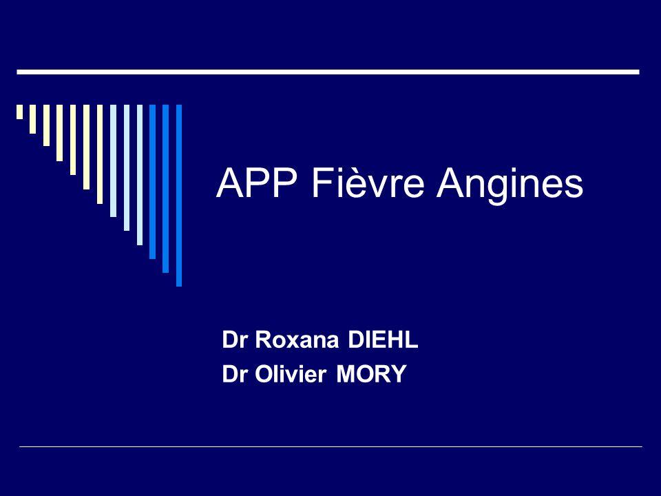Dr Roxana DIEHL Dr Olivier MORY