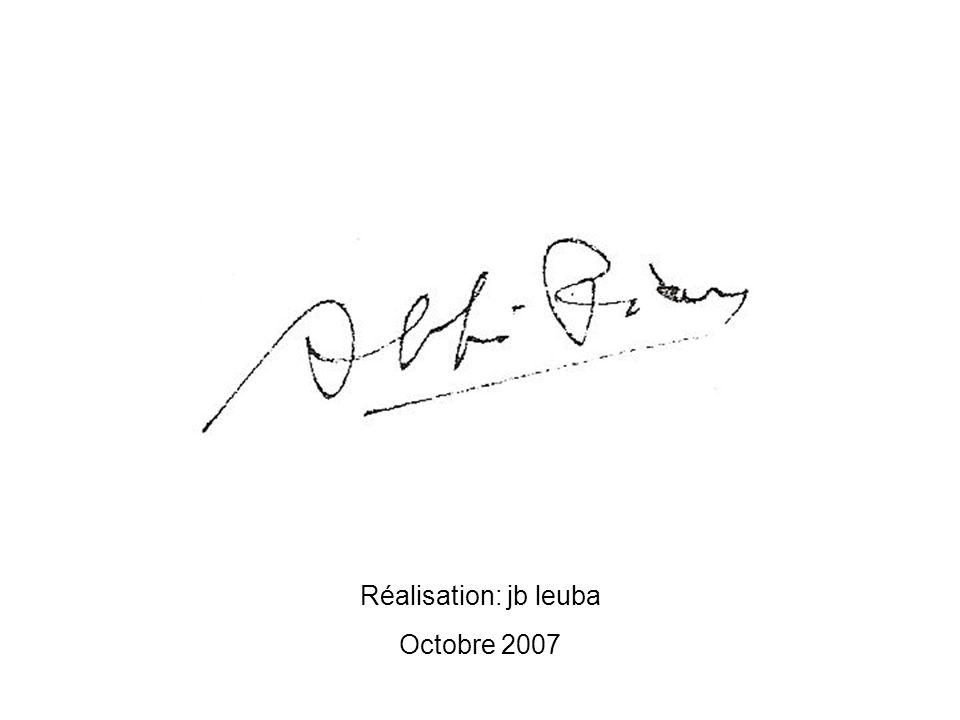 Réalisation: jb leuba Octobre 2007
