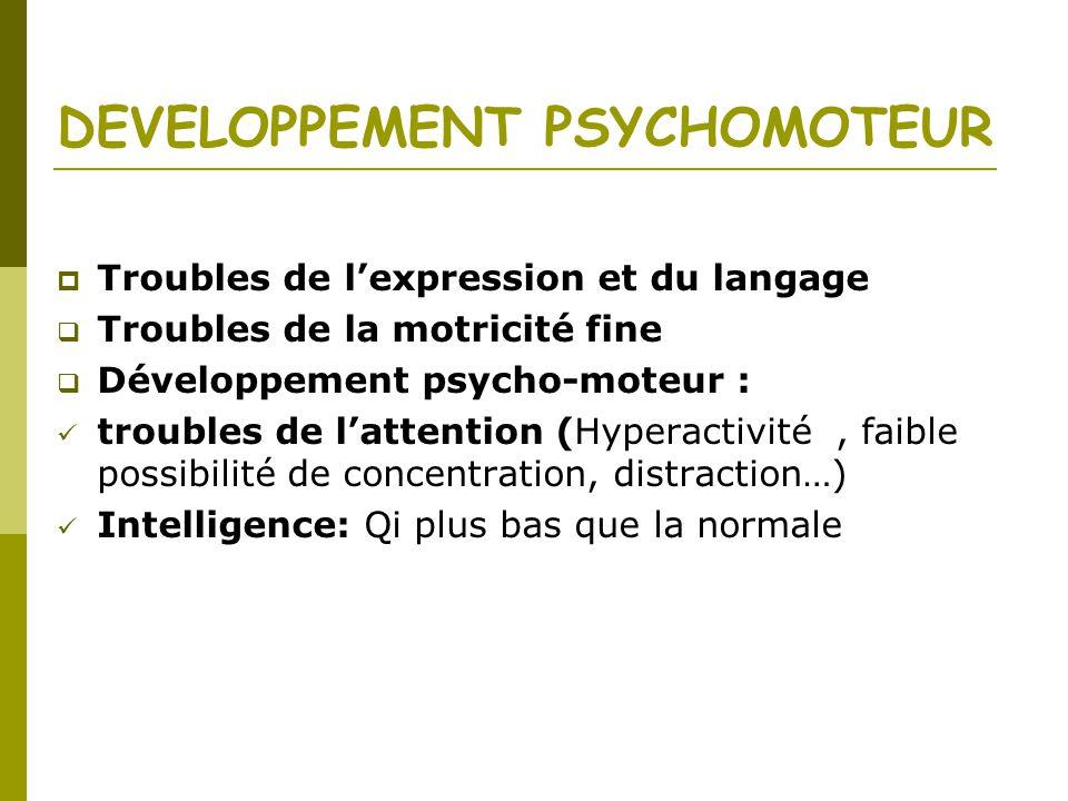 DEVELOPPEMENT PSYCHOMOTEUR