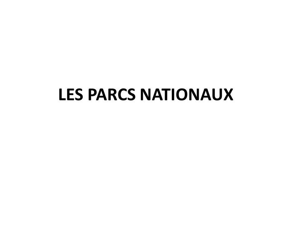 LES PARCS NATIONAUX