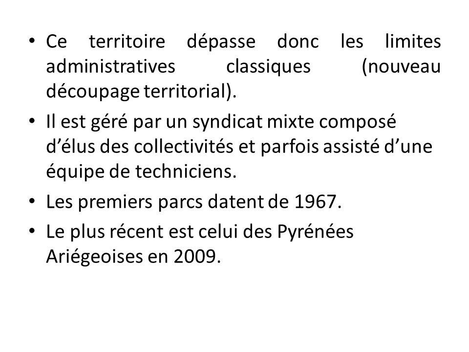 Ce territoire dépasse donc les limites administratives classiques (nouveau découpage territorial).