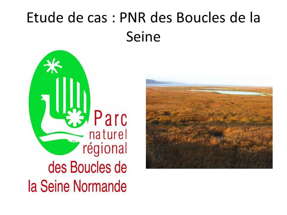 Etude de cas : PNR des Boucles de la Seine