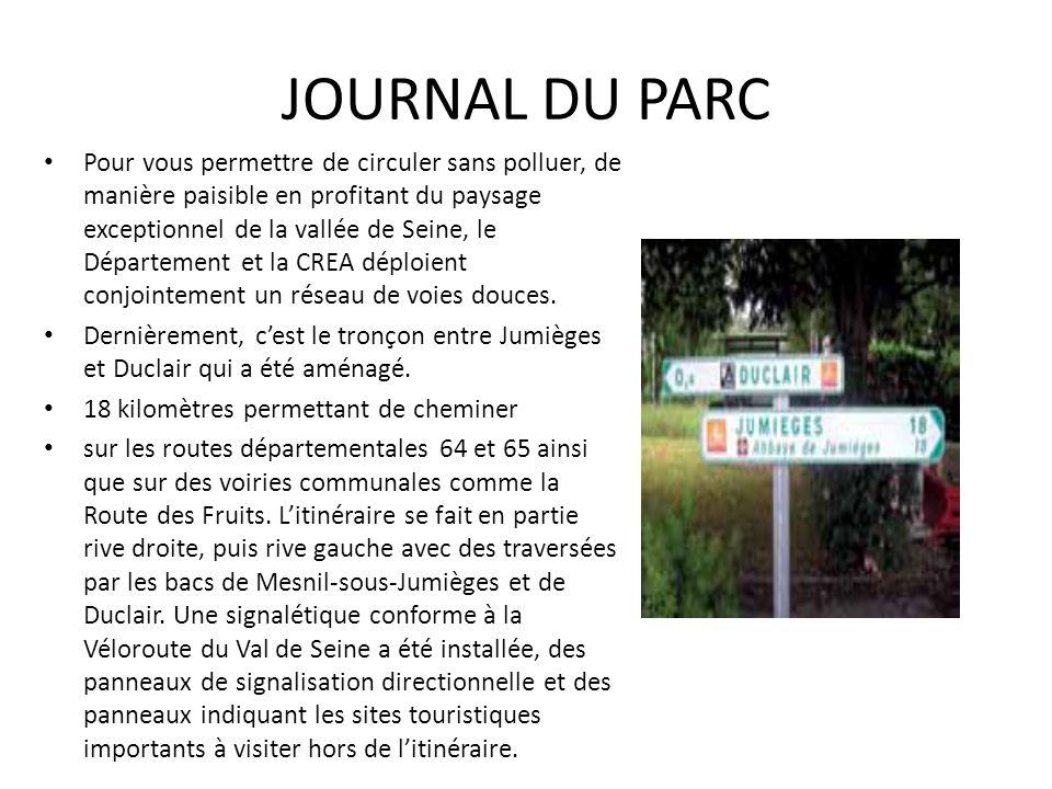 JOURNAL DU PARC