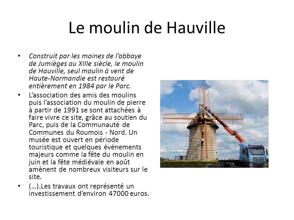 Le moulin de Hauville