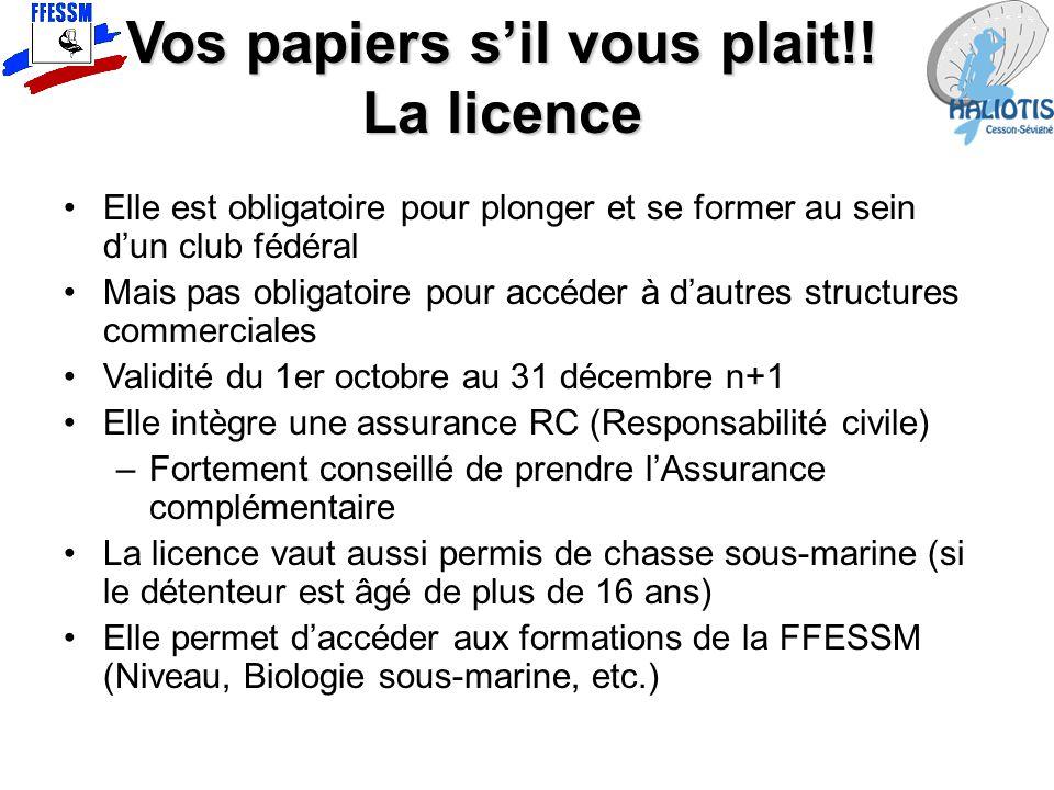 Vos papiers s'il vous plait!!