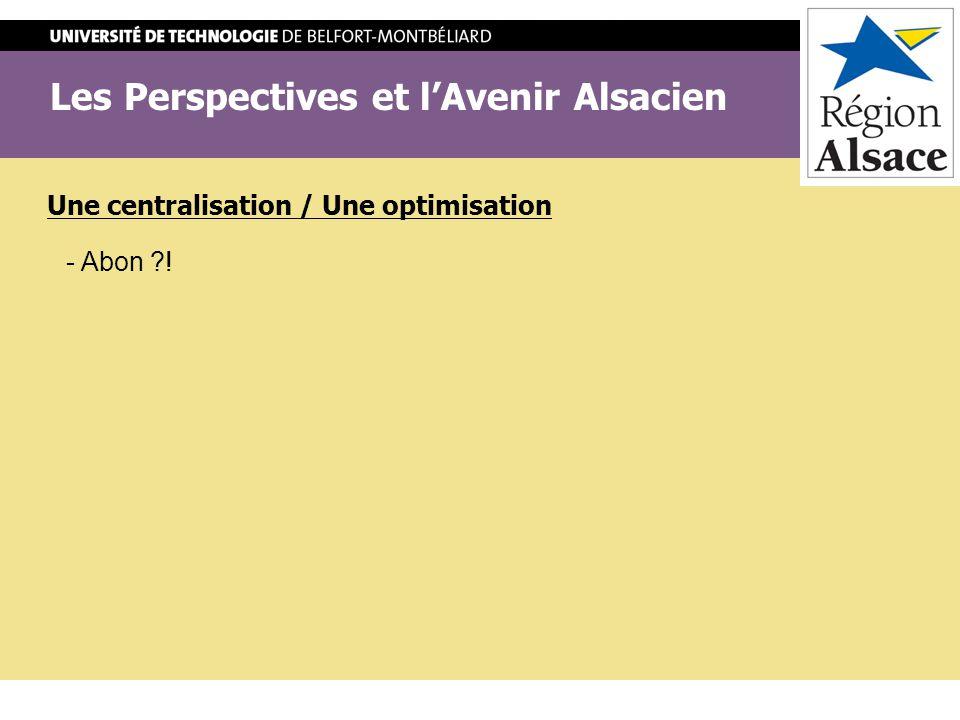 Les Perspectives et l'Avenir Alsacien
