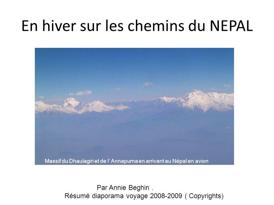 En hiver sur les chemins du NEPAL