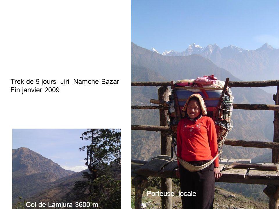 Trek de 9 jours Jiri Namche Bazar