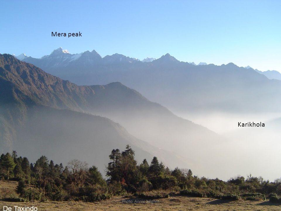 Mera peak Karikhola De Taxindo