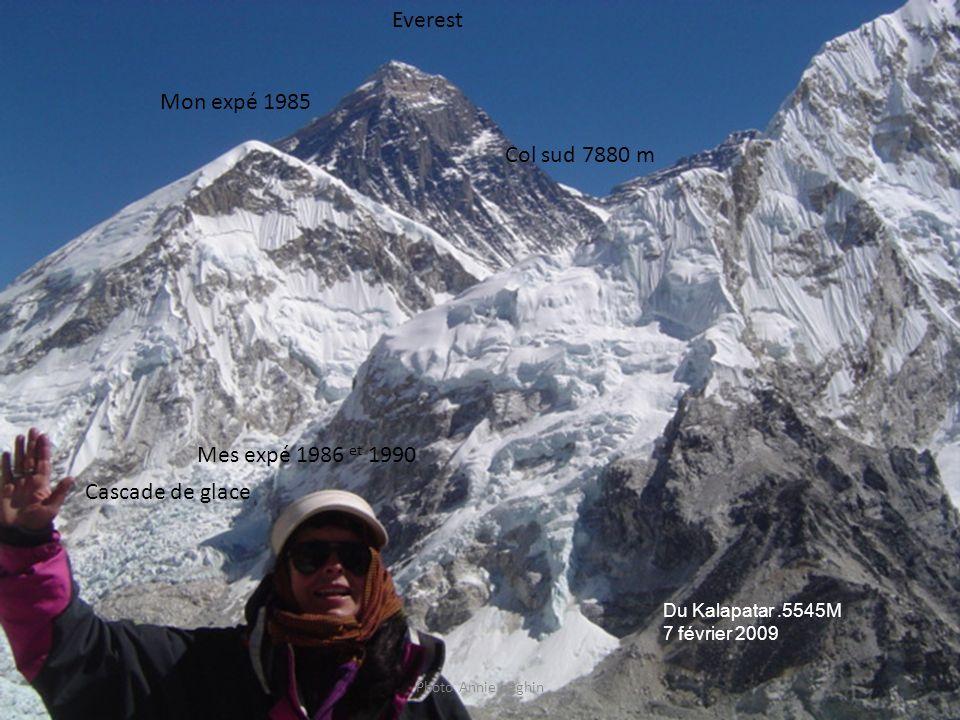 Everest Mon expé 1985 Col sud 7880 m Mes expé 1986 et 1990