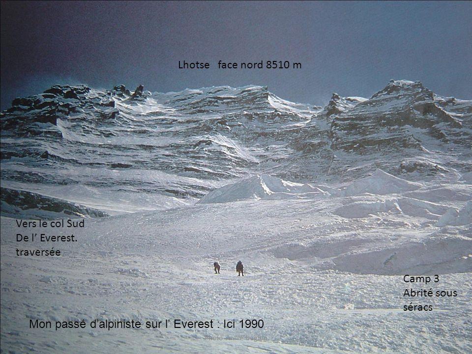 Mon passé d'alpiniste sur l' Everest : Ici 1990