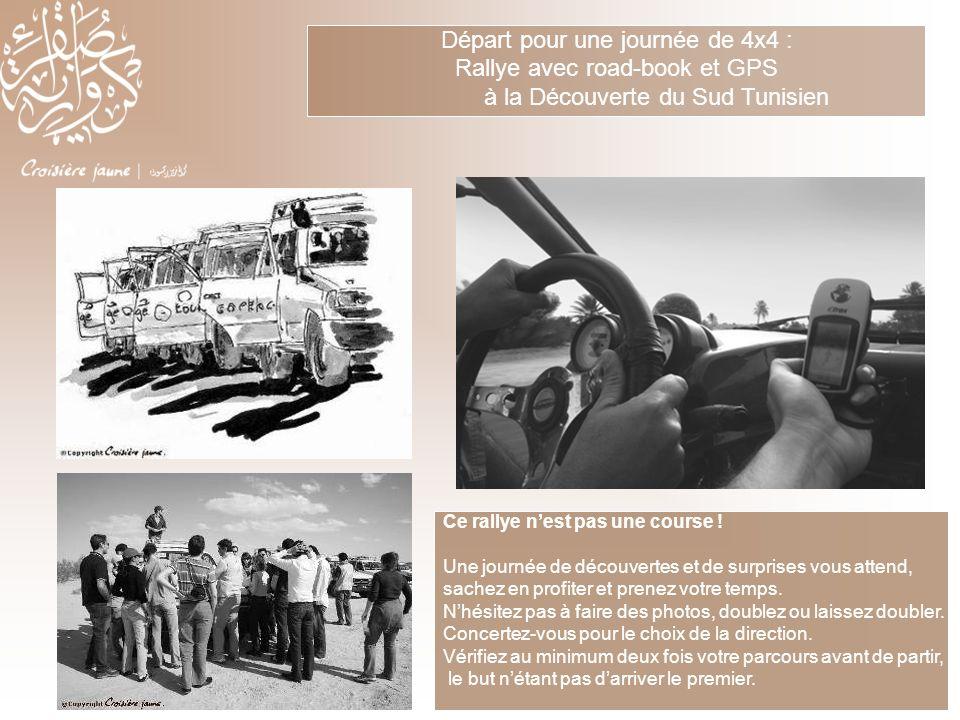 Départ pour une journée de 4x4 : Rallye avec road-book et GPS