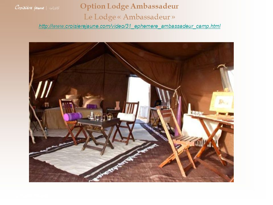 Option Lodge Ambassadeur