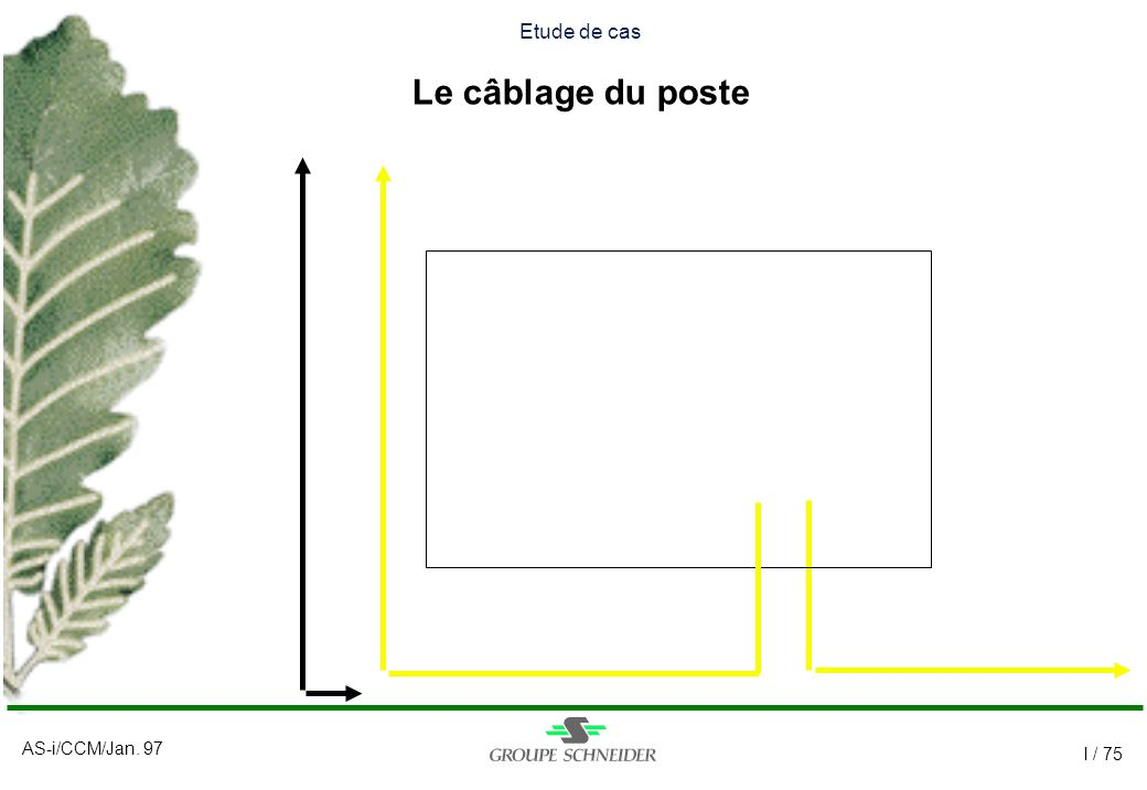 Etude de cas Le câblage du poste