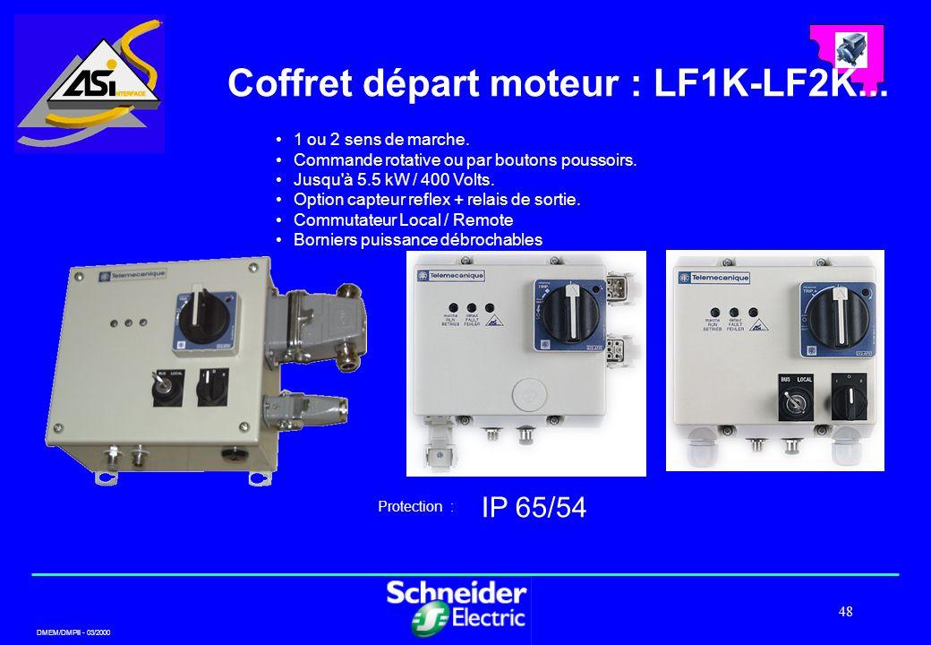 Coffret départ moteur : LF1K-LF2K...