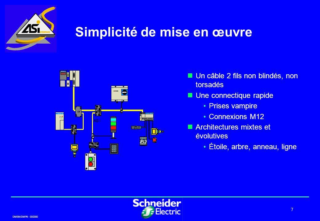 Simplicité de mise en œuvre
