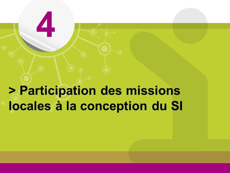 4 > Participation des missions locales à la conception du SI