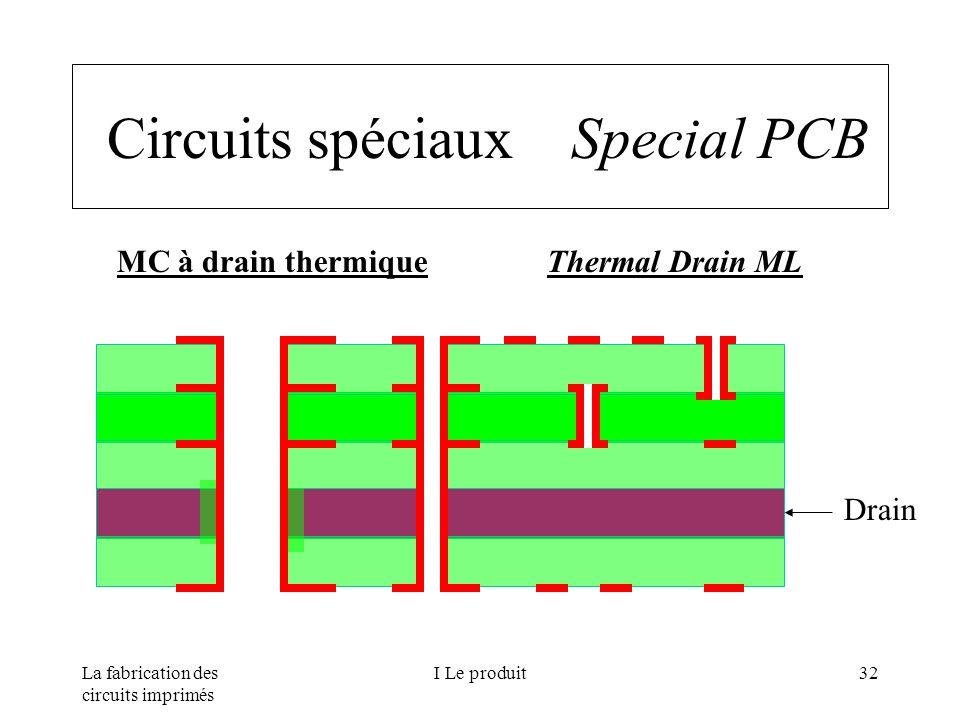 Circuits spéciaux Special PCB