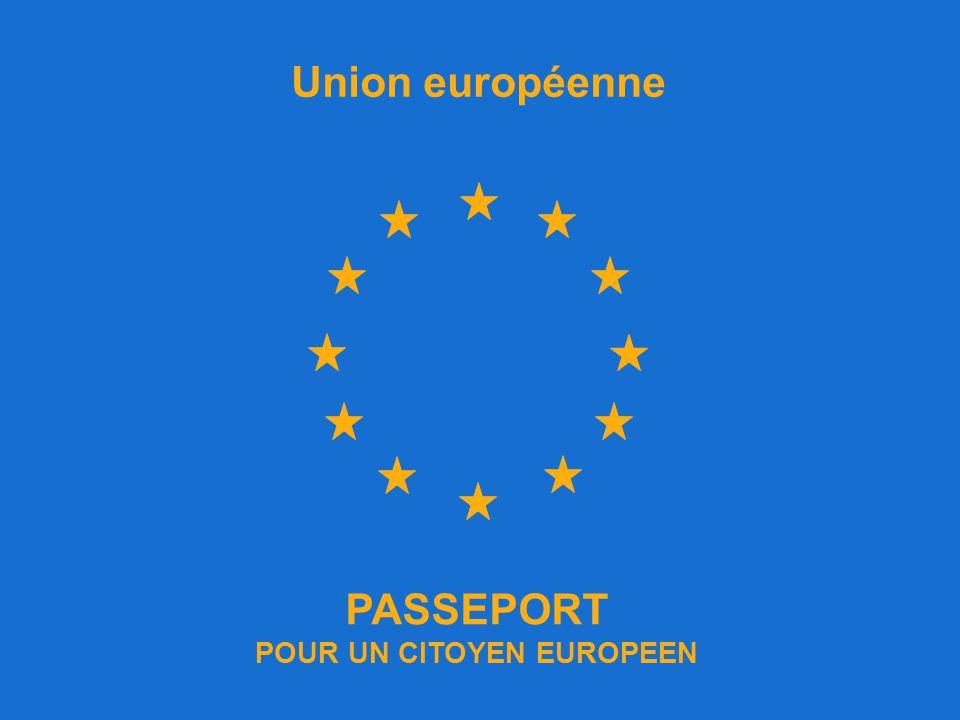 POUR UN CITOYEN EUROPEEN