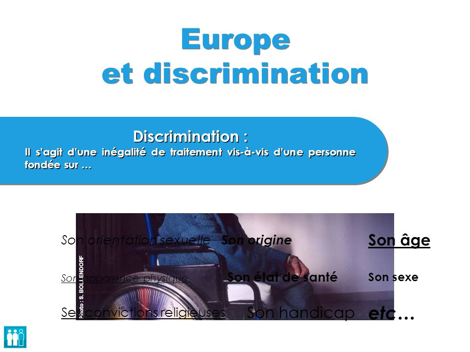 Europe et discrimination