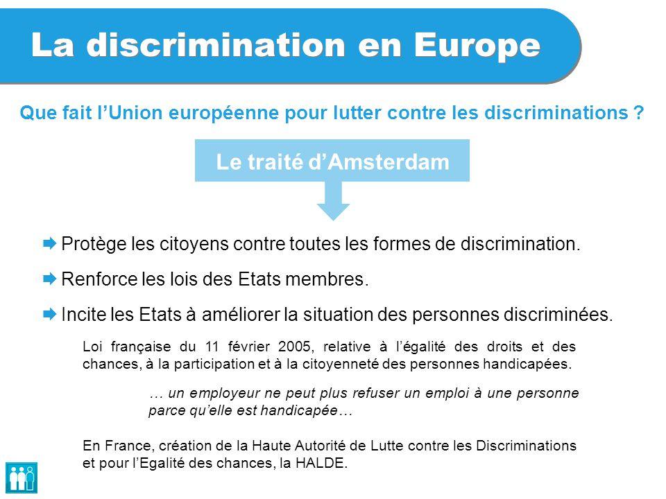 La discrimination en Europe