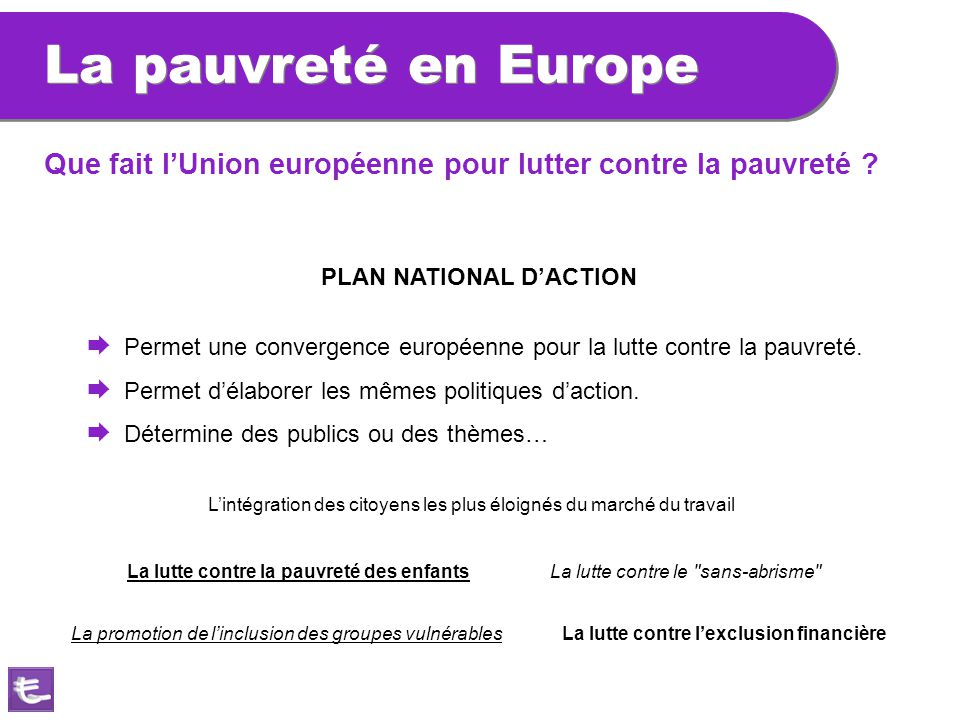 PLAN NATIONAL D'ACTION