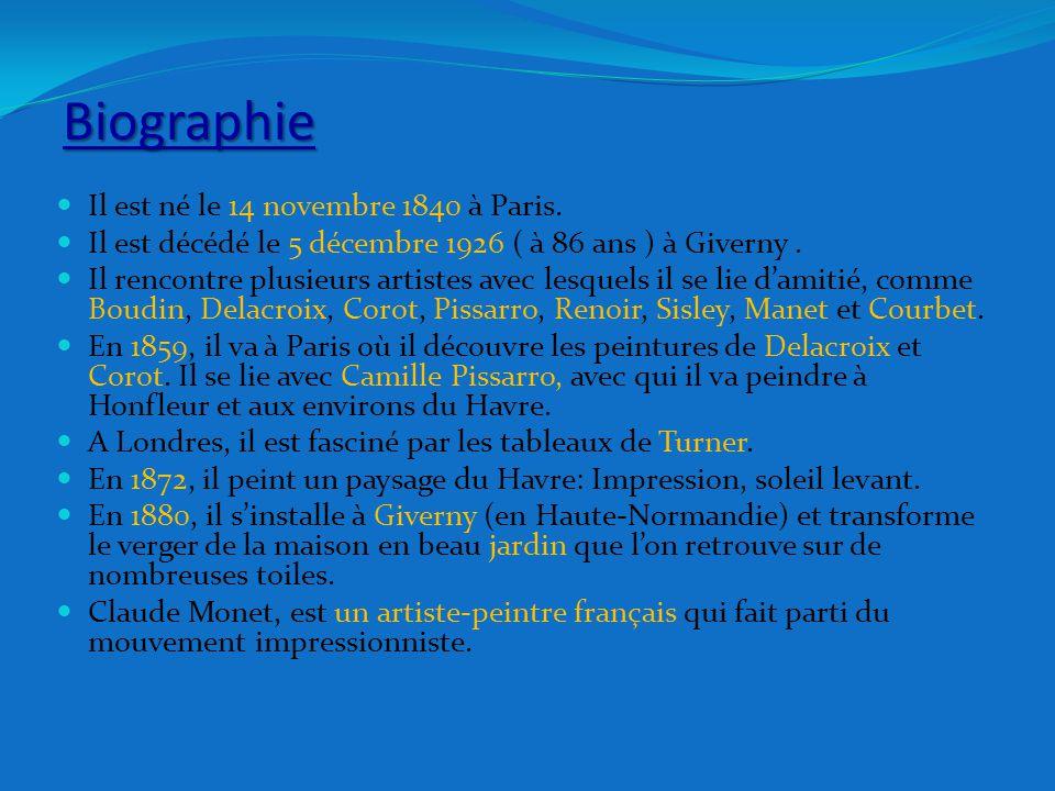 Biographie Il est né le 14 novembre 1840 à Paris.