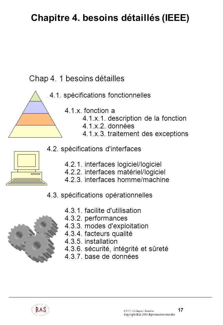 Chapitre 4. besoins détaillés (IEEE)