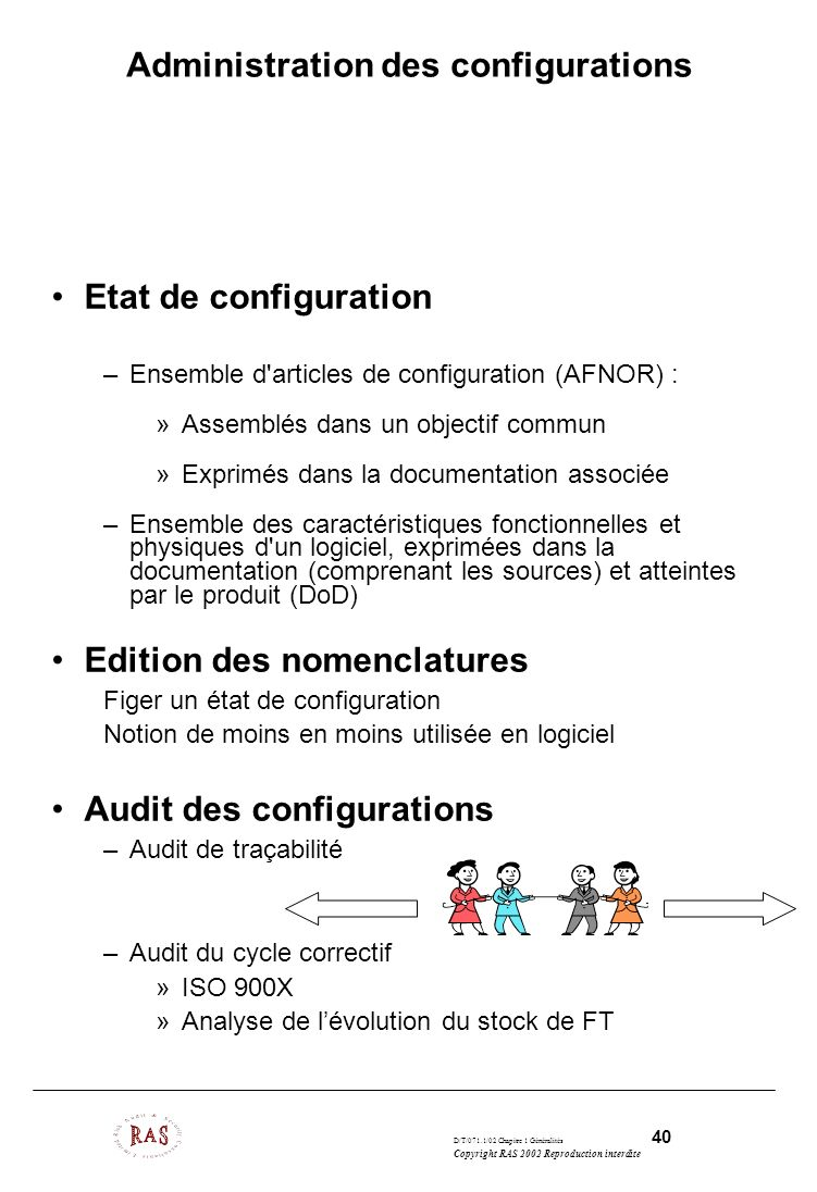 Administration des configurations
