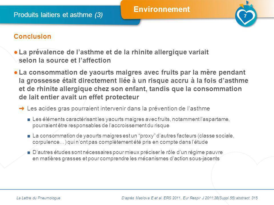 Produits laitiers et asthme (3)