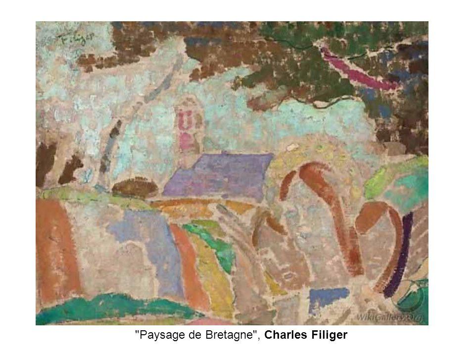 Paysage de Bretagne , Charles Filiger