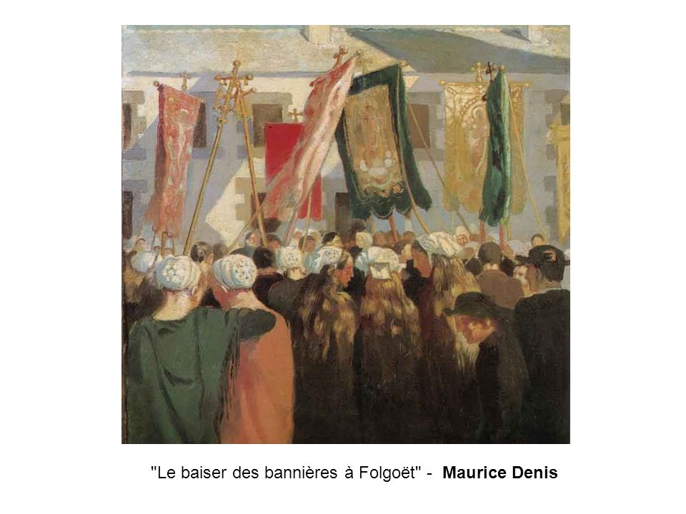 Le baiser des bannières à Folgoët - Maurice Denis