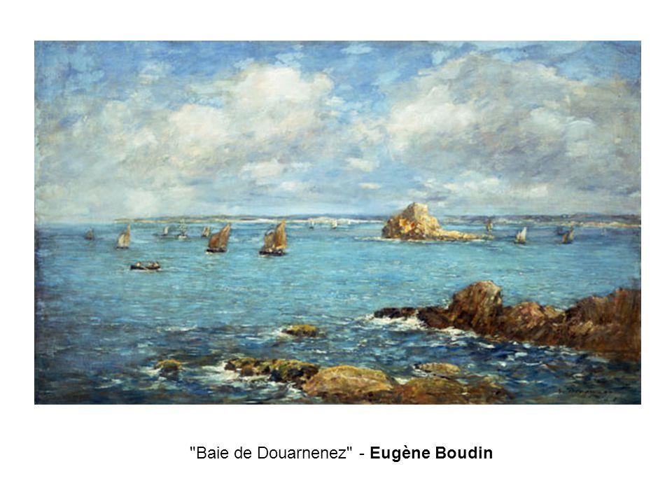Baie de Douarnenez - Eugène Boudin