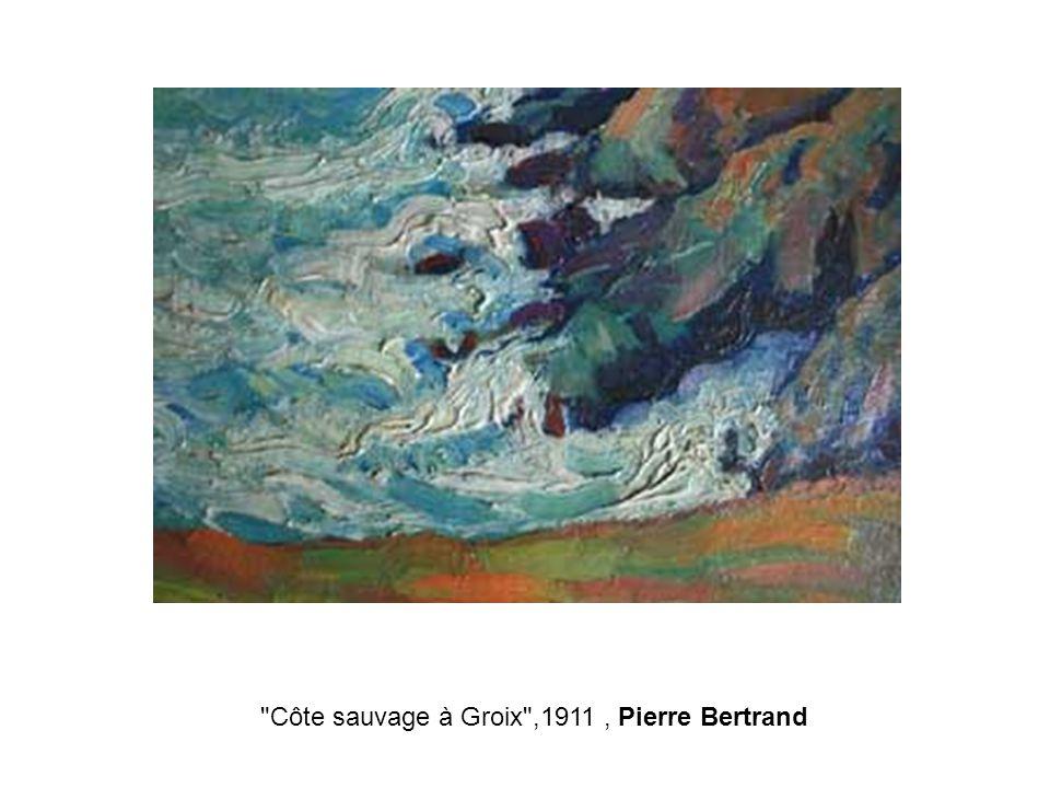 Côte sauvage à Groix ,1911 , Pierre Bertrand