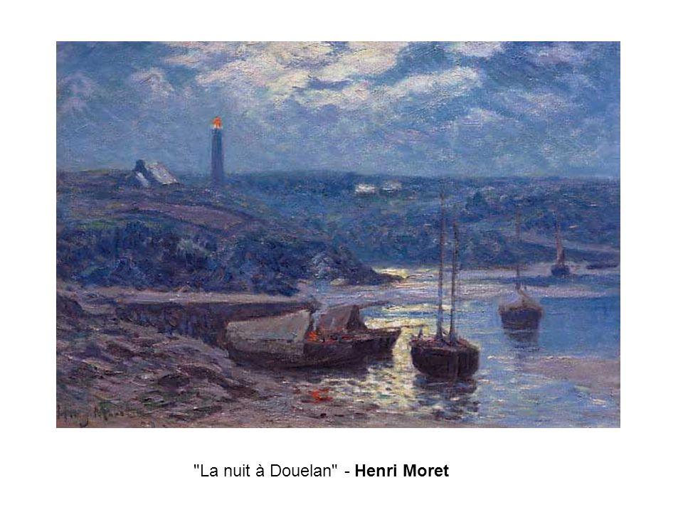 La nuit à Douelan - Henri Moret